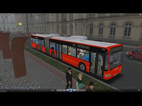 Omsi 2 bus tour (569) London line 73 Euston Station - Victoria Station @ Arriva MB O530G