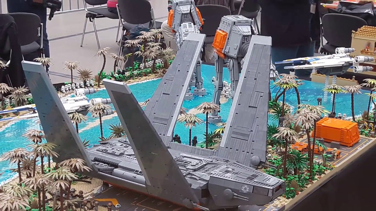 hobby modell spiel messe leipzig 2017 lego star wars lego technik youtube. Black Bedroom Furniture Sets. Home Design Ideas