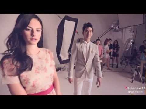 Engsub J.Estina Making Film  Kim Soo Hyun & Kaya Scodelario