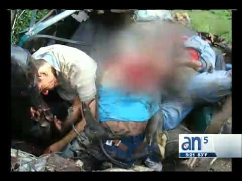 Accidente De Tránsito En Cuba - América TeVé