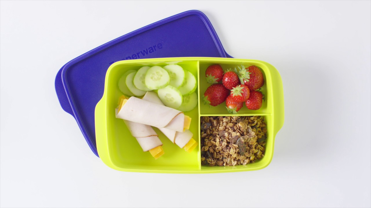Tupperware - Lunch box inspirations