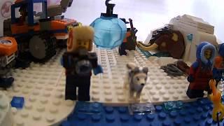Лего. Арктика  раскопки мамонта и лаборатория