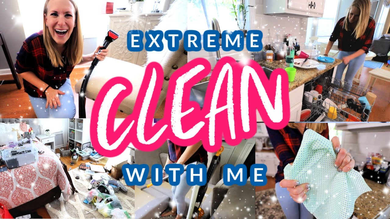 *NEW* ULTIMATE CLEAN WITH ME (the magic mindset that gets me off the couch!)