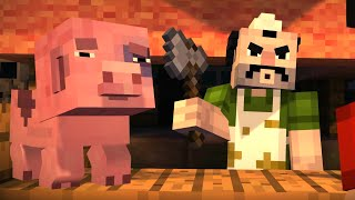 Minecraft: STORY MODE: The Order of the Stone - Part 3