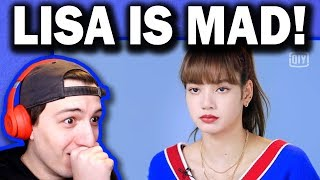 Download lagu BLACKPINK LISA becomes a tough mentor! Youth With You Episode 8 REACTION!