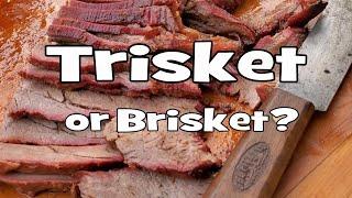BBQ Brisket or is it Trisket?  Recipe  BBQ Pit Boys