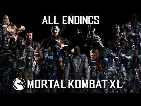 Mortal Kombat XL - All Endings