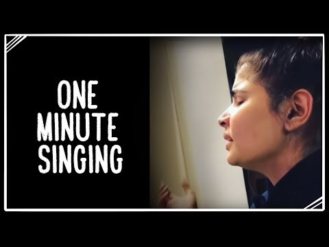 One Minute Singing | 22 January 2019 | Chinmayi Sripada