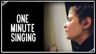 One Minute Singing 22 January 2019 Chinmayi Sripada