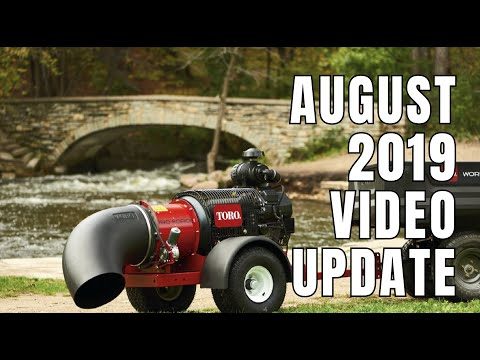 August 2019 Video Update From Turf Equipment And Supply Company