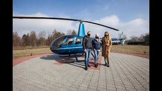 NYX Hotel Warsaw - Surprise Helicopter Ride for our first guests!