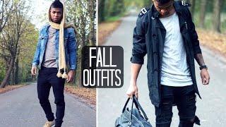 FALL OUTFITS || MEN'S FASHION