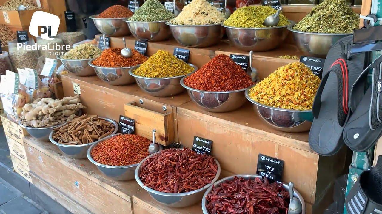 Todo lo necesario en el mercado de Jerusalem