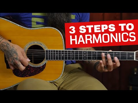 how-to-play-harmonics-on-acoustic-guitar-in-3-steps