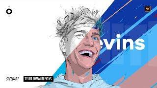 Speedart : Tyler &quotNinja&quot Blevins - Fortnite  Adobe Draw