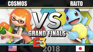 Cosmos (Inkling) vs. Raito (Pokémon Trainer) - E3 2018 For Glory Competition - Grand Finals