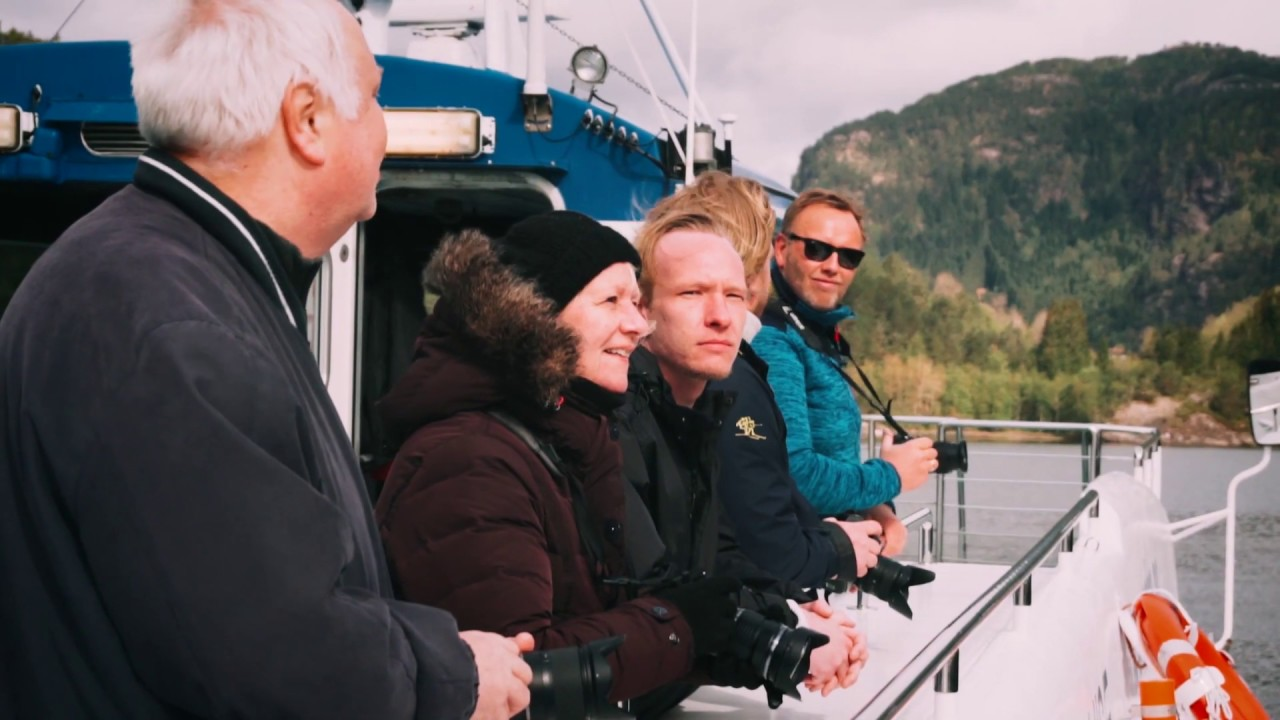 Thumbnail: Fjordcruise fra Bergen til Mostraumen