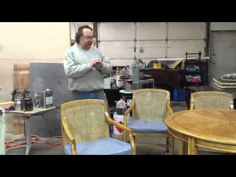 refinishing a oak drexel heritagedining table at timeless arts refinishing