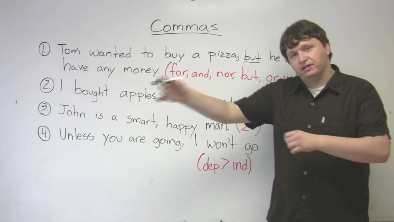comma definition and examples