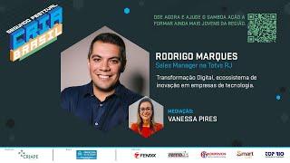 Transformação Digital, ecossistema de inovação em empresas de tecnologia - Festival Cria Brasil