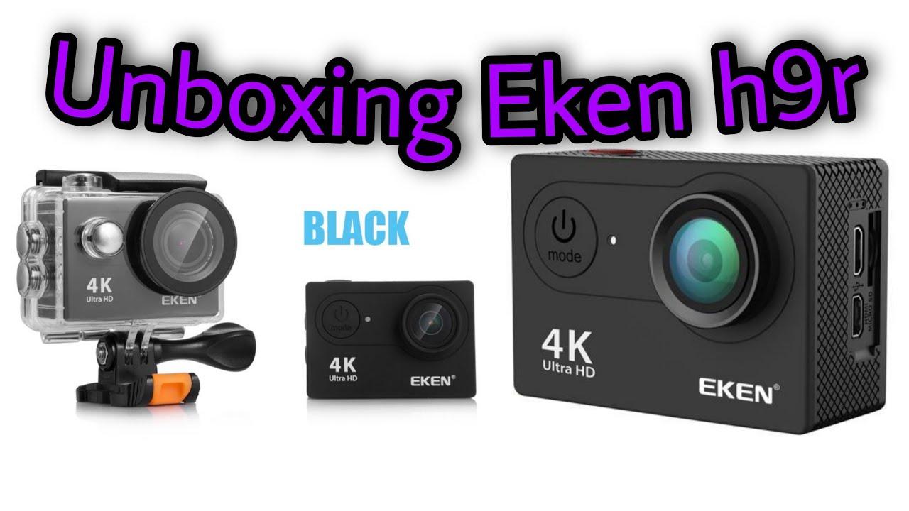 Câmera Eken H9R, mais opção 8 de acessórios no AliExpress (Unboxing)