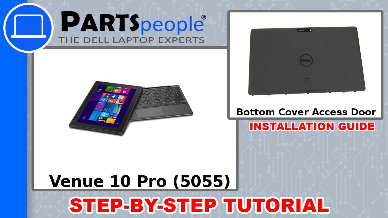 Dell Venue 10 Pro 5055 - Bottom Cover Replacement