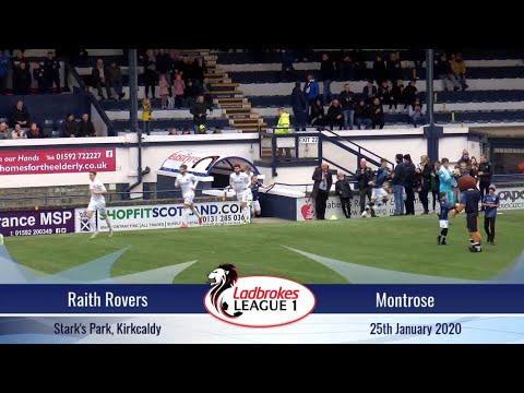 Raith Montrose Goals And Highlights