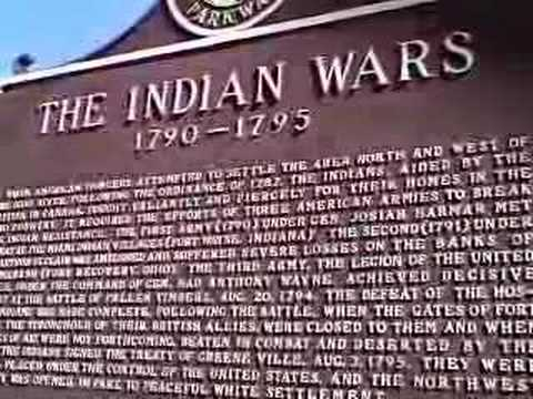 Ohio Marker - Indian Wars (1790-1795)