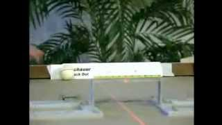 The Original Meucci Testing Video of the Black Dot Pool Cue Shaft  - 2006