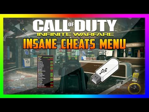 CoD: Infinite Warfare USB Mod/Cheat Menu TUTORIAL   XBOX ONE/PS4/PC   + Download