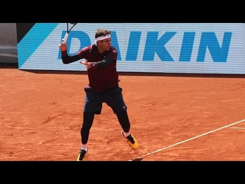Juan Martín Del Potro vs. Dustin Brown | R1 Munich 2016 [Highlights]