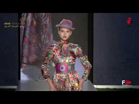 ULTRACHIC Arab Fashion Week Autumn Winter 2017 Dubai by Fashion Channel