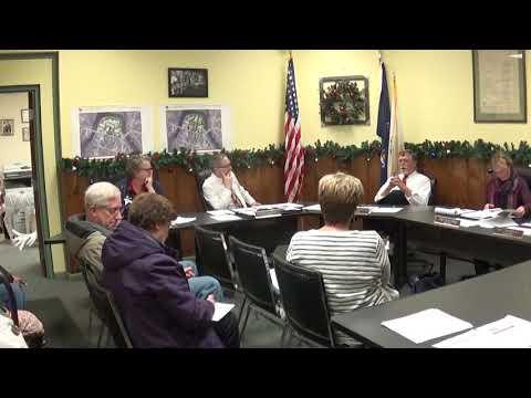 Champlain Village Board Meeting  12-10-18