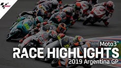 Moto3 Race Highlights | 2019 #ArgentinaGP