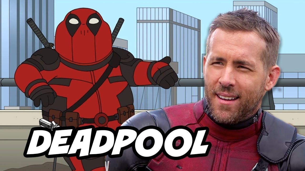 Deadpool family guy episode and deadpool 2018 tv series for Deadpool show