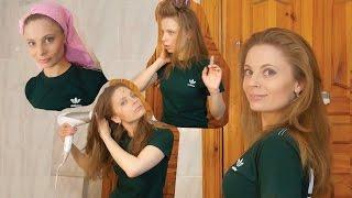видео укладка волос средней длины