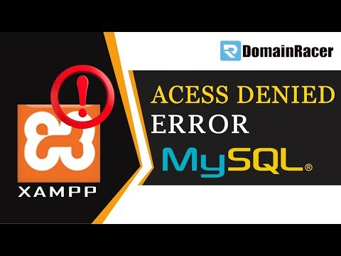 Solve mysql_connect() Access Denied For User 'root'@'localhost' (Using Password Yes)