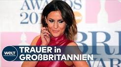 """MOBBING: Wut und Trauer nach Tod von TV-Moderatorin und """"Love Island""""-Star Caroline Flack"""