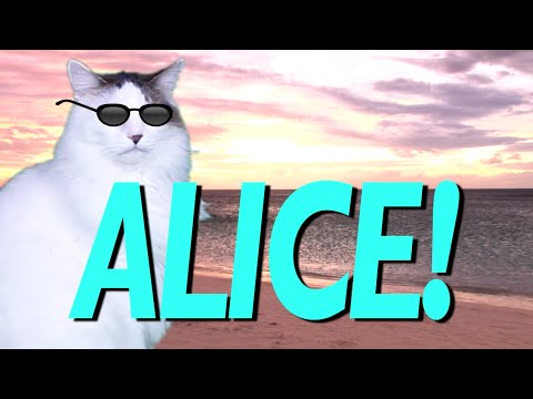 Happy Birthday Alice Image Wishes✔
