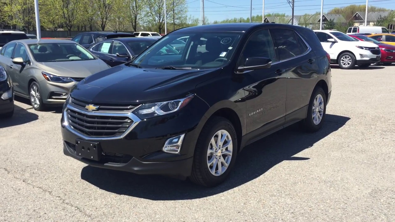 2018 chevrolet equinox lt mosaic black metallic roy nichols motors courtice on youtube. Black Bedroom Furniture Sets. Home Design Ideas