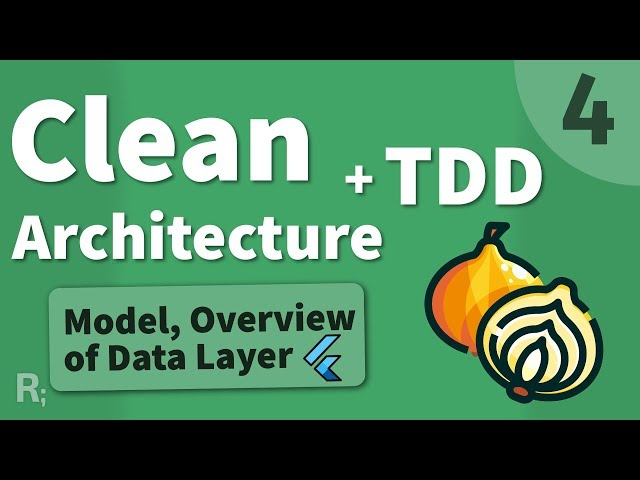 Flutter TDD Clean Architecture Course [4] – Data Layer Overview & Models