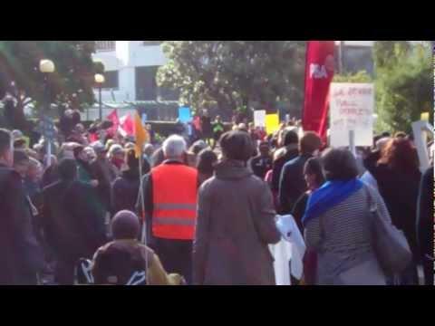 TVNZ7 - Funeral Procession - Parliament [1]