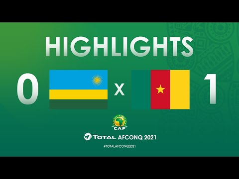 HIGHLIGHTS | #TotalAFCONQ2021 | Round 2 - Group F: Rwanda 0-1 Cameroon