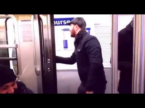 Fransa metrosunda muavinlik yapan Trk Paris Metrosunu Trolleyen Adam wap Net az