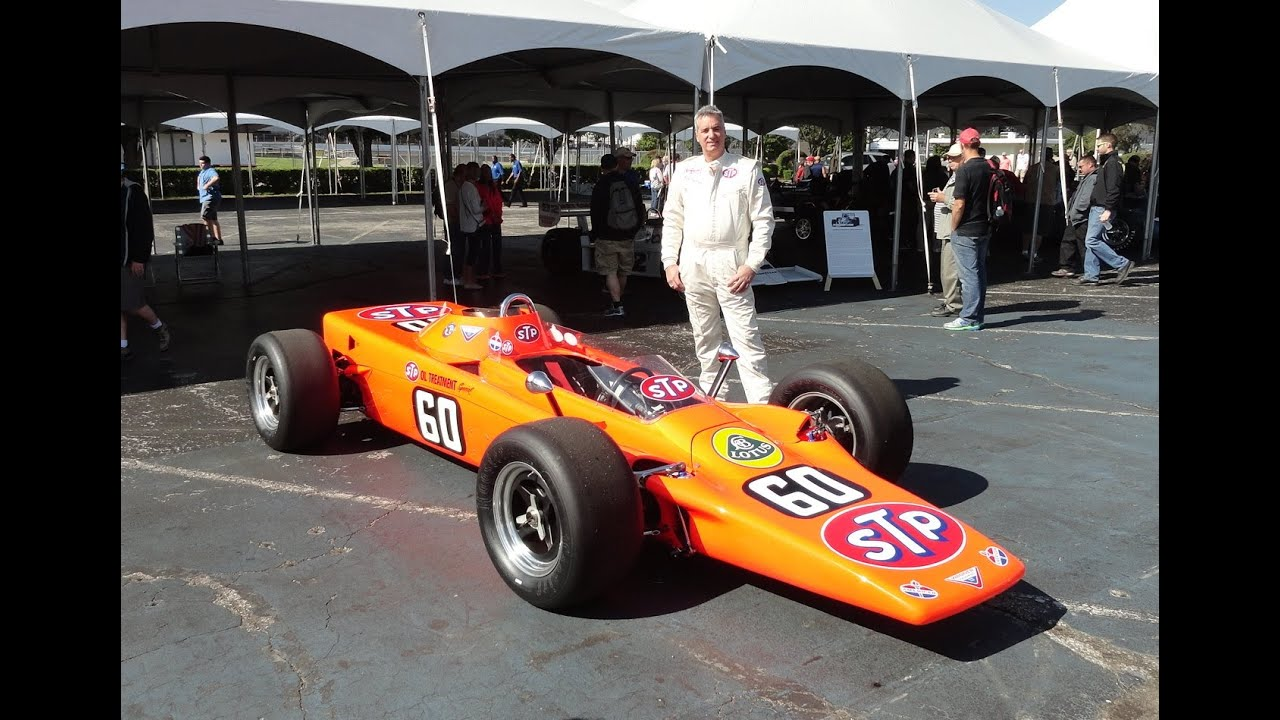 1968 Indy 500 Race Car Lotus Turbine STP Oil Treatment Special # 60 My Car Story with Lou ...