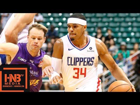 LA Clippers vs Sydney Kings Full Game Highlights | 30.09.2018, NBA Preseason