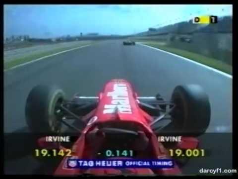 F1 Interlagos 1997 - Eddie Irvine Onboard