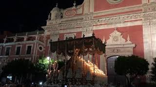 Coronación Virgen de los Ángeles (Los Negritos) plaza del Salvador. 18.05.2019