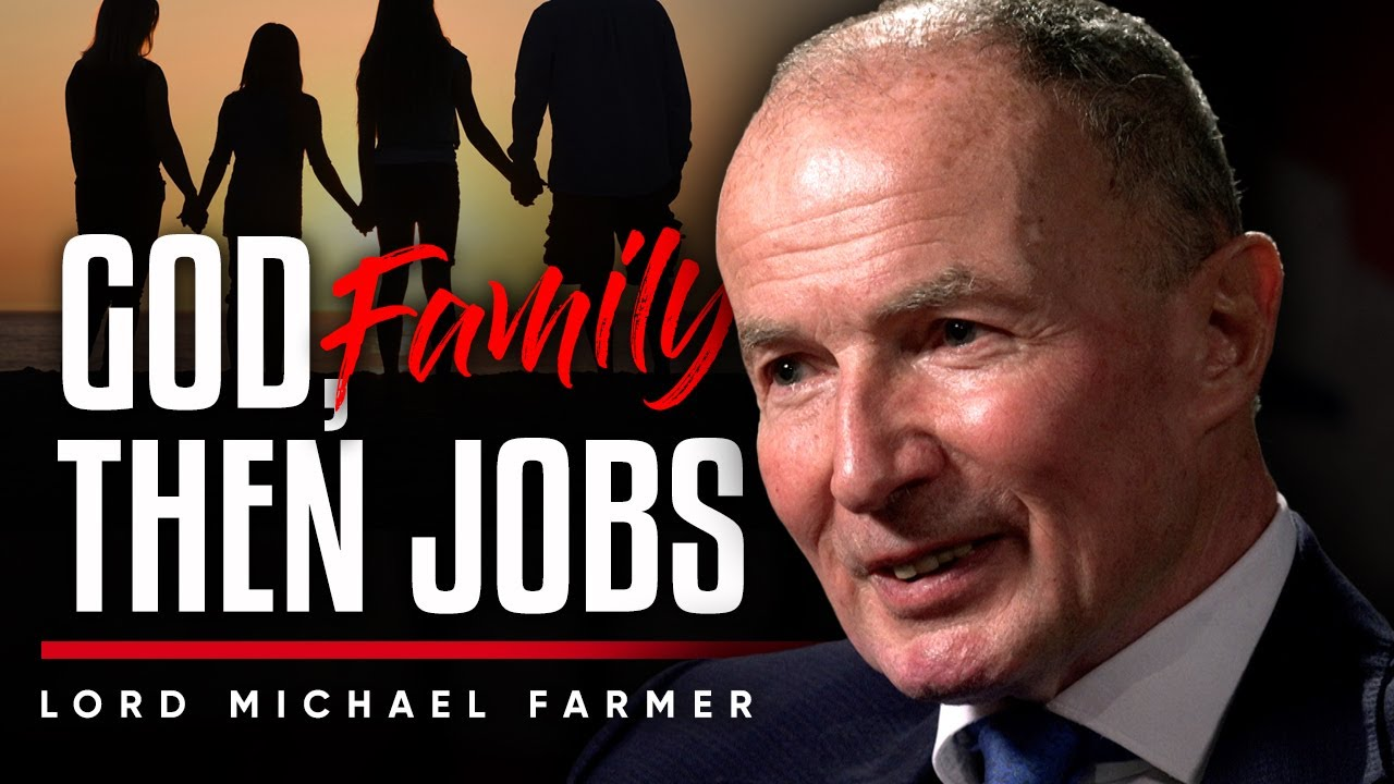 GOD, FAMILY, THEN JOBS: Why I Needed Structure In My Life To Become Better - Lord Michael Farmer