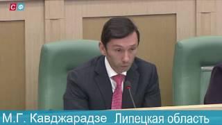 Кавджарадзе: надо решать вопрос с мостом в Лебедяни Липецкой области